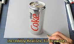 19 साल का यह लड़का पेंसिल से बनाता है ऐसी 3D ड्राइंग जिन्हें देख हर कोई खाता है धोखा!