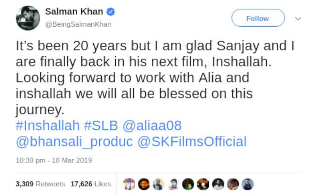 सलमान-आलिया पहली बार संग करते दिखेंगे रोमांस,भंसाली की इस फिल्म में आने जा रहे नजर