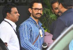 आमिर खान और फातिमा सना शेख फिल्म 'ठग्स ऑफ हिंदोस्तान' की शूटिंग से लौटे वापस