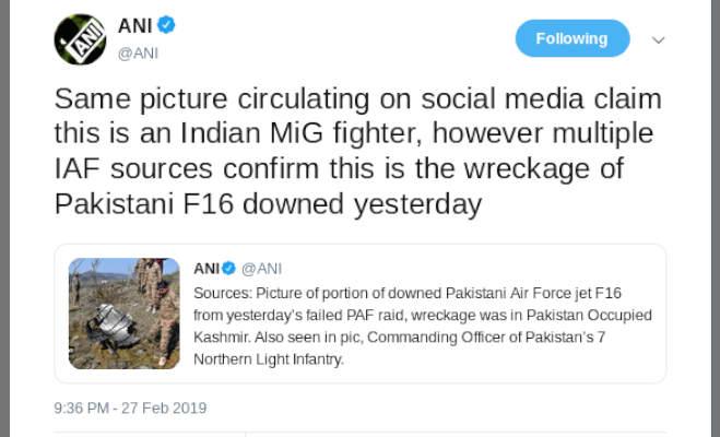 पाकिस्तान के झूठ से उठा पर्दा,तस्वीरों में देखें f16 के मलबे की जांच करते पाक सैनिक