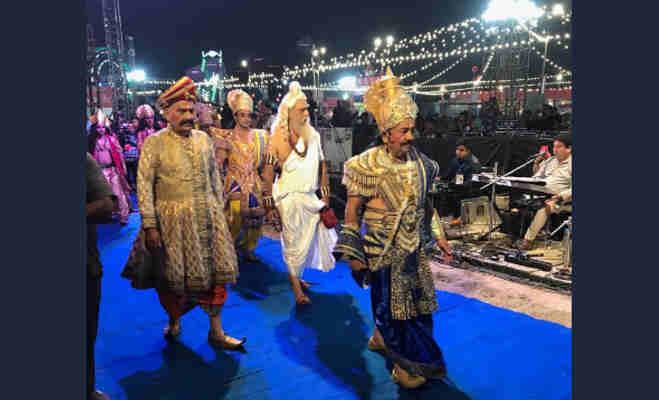 रामलीला में ये किरदार निभा रहे हैं मोदी सरकार के मंत्री डाॅ. हर्षवर्धन,सामने आर्इ ये तस्वीरें