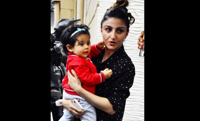 मॉम सोहा अली खान संग नन्हीं इनाया राखी के पहले ही क्या चल दीं भाई तैमूर के घर,देखें तस्वीरें