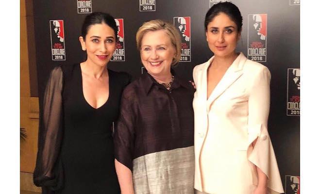 हिलेरी क्लिंटन से मुलाकात के दौरान करीना-करिश्मा ने किया कपूर परिवार के इस राज का खुलासा