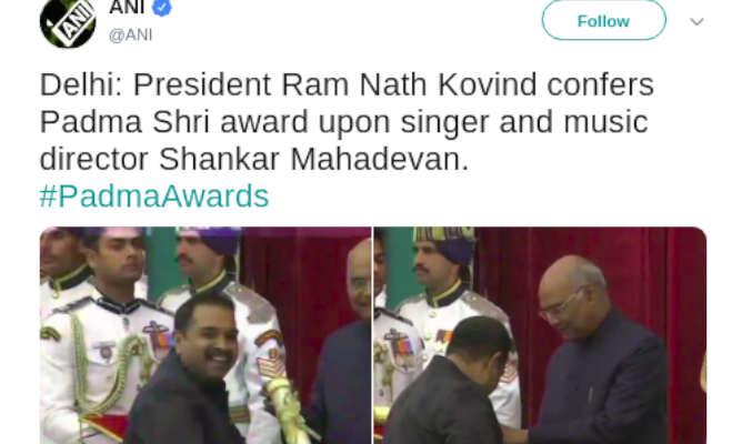 पद्म अवाॅर्ड 2019 : कादर खान होंगे पद्मश्री,प्रभुदेवा,शंकर महादेवन और मोहन लाल हुए सम्मानित