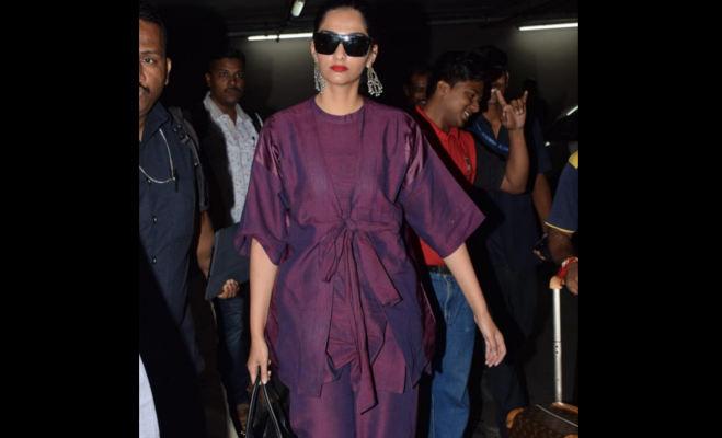 'सुई-धागा' स्टार्स वरुण-अनुष्का इसलिए भारत-भ्रमण पर निकले,ये सेलीब्रिटीज भी एयरपोर्ट पर हुए स्पॉट