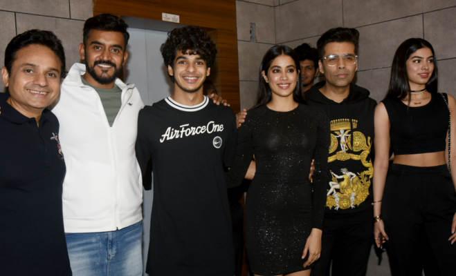 तस्वीरें : जाह्नवी ने धड़क की सक्सेज पार्टी पर अपनी अगली फिल्म तख्त के बारे में किए ये खुलासे