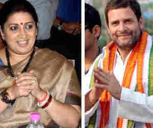 लोकसभा चुनाव 2019 : पांचवें चरण में राजनाथ-स्मृति, सोनिया-राहुल जैसे दिग्गजों को जानें काैन दे रहा टक्कर