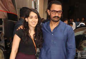 शाहरुख और सैफ के बाद अब आमिर खान भी बेटी इरा संग हुए स्पॉट, देखें तस्वीरें