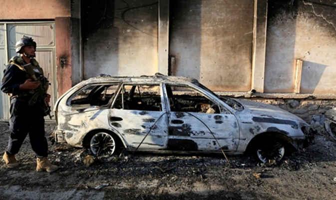 अफगानिस्तान : मस्जिद के पास दो विस्फोट, 15 की मौत और करीब 50 लोग घायल