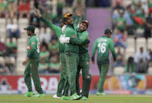 ICC cricket World Cup 2019 : बांग्लादेश ने अफगानिस्तान को 62 रनों से हराया, हसन ने खेली शानदार पारी