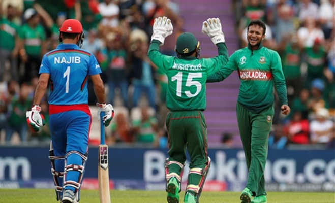 icc cricket world cup 2019 : बांग्लादेश ने अफगानिस्तान को 62 रनों से हराया,हसन ने खेली शानदार पारी