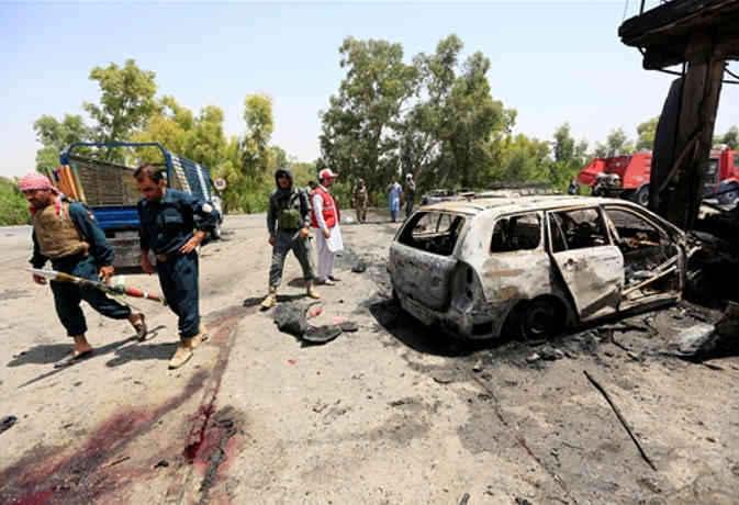 अफगानिस्तान में हुए धमाके से अब तक 68 लोगों की मौत, 165 घायल