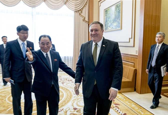 तीसरी बार उत्तर कोरिया पहुंचे अमेरिकी विदेश मंत्री, दूसरे दिन भी करेंगे परमाणु निस्त्रीकरण पर विस्तृत बात