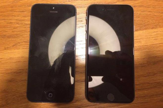 एप्पल के 4 इंच वाले iphone 5se की iphone 5 से कम्पेयर की तस्वीरें हुईं लीक