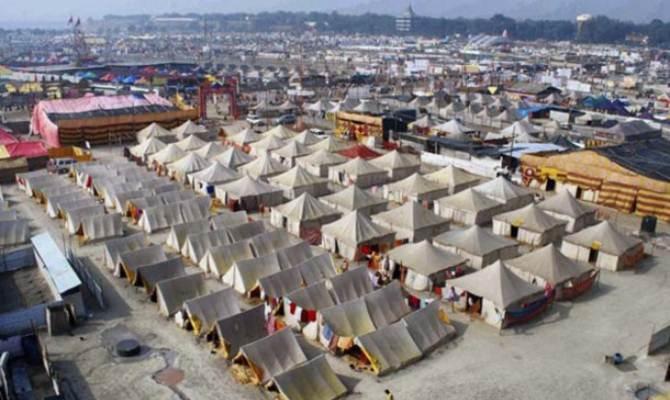 1800 बीघा में बसेगी तंबुओं की नगरी
