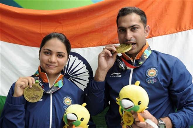एशियन गेम्स में एयरफोर्स का जलवा,भारत को दिलाए दो पदक