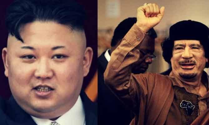 किम-जोंग-उन का होगा गद्दाफी जैसा हाल?