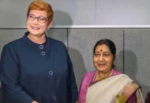 यूएन में नौ देशों के नेताओं से सुषमा की मुलाकात, रणनीतिक साझेदारी पर हुई बात