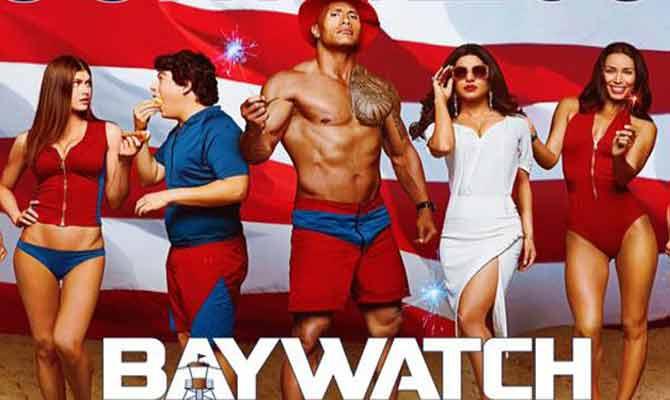 Baywatch Review: छिछोरी और घिसी पिटी हॉलीवुड फिल्म में फंसी प्रियंका चोपड़ा