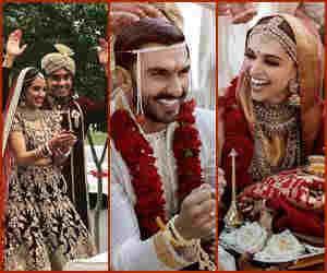 शशि थरूर के बेटे से लेकर दीप-वीर की शादी तक यह हैं भारत की बिग फैट वेडिंग्स