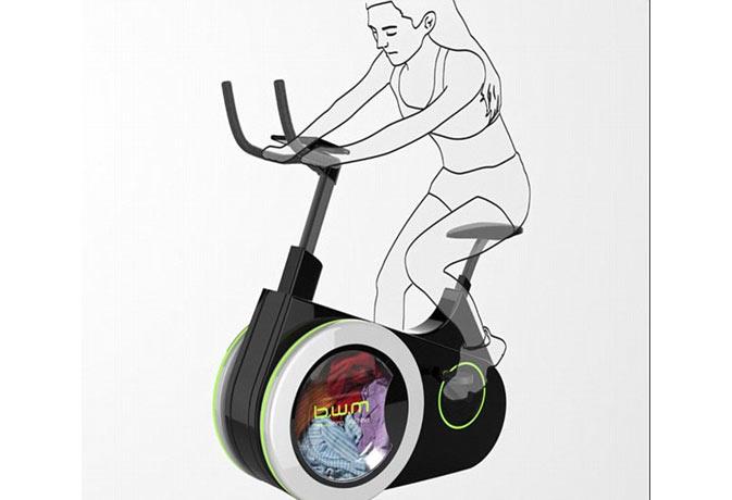ये स्थिर बाइक मोटापा कम करने संग धोएगी आपके कपड़े भी