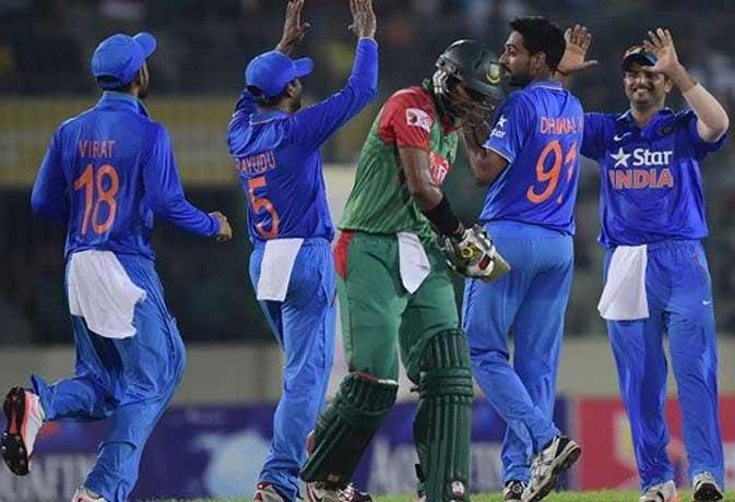आखिरी मैच में भारत ने बांग्लादेश को 77 रनों से हराया, बचाया सम्मान