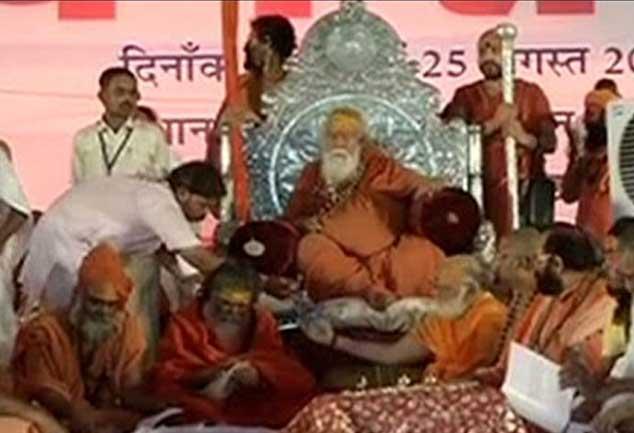 धर्म संसद ने कहा एक माह में बनेगा राम मंदिर, हटेंगी साईं मूर्तियां