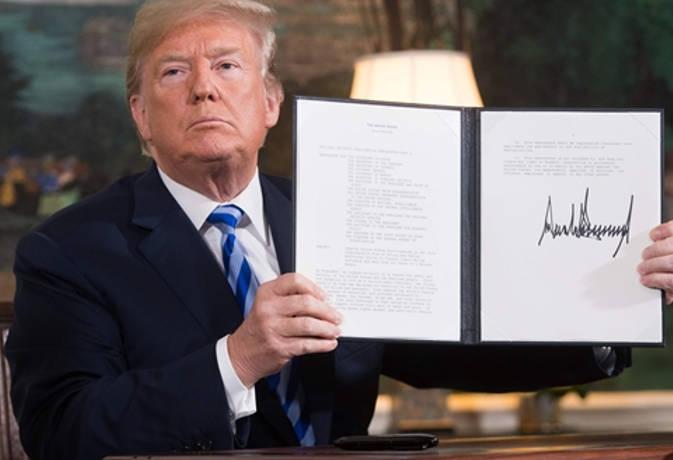 ईरानी परमाणु समझौते से अलग हुआ अमरीका, पश्चिमी एशिया में बढ़ सकता है तनाव