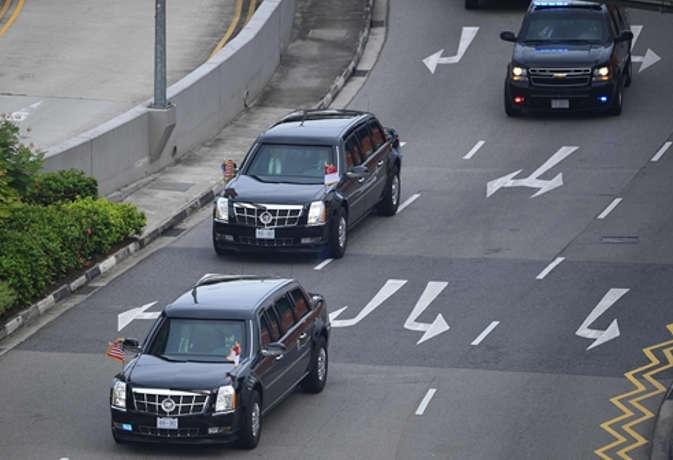 सिंगापुर में बैठक के बाद ट्रंप ने किम को दिखाई अपनी द बीस्ट कार,ये हैं फीचर्स