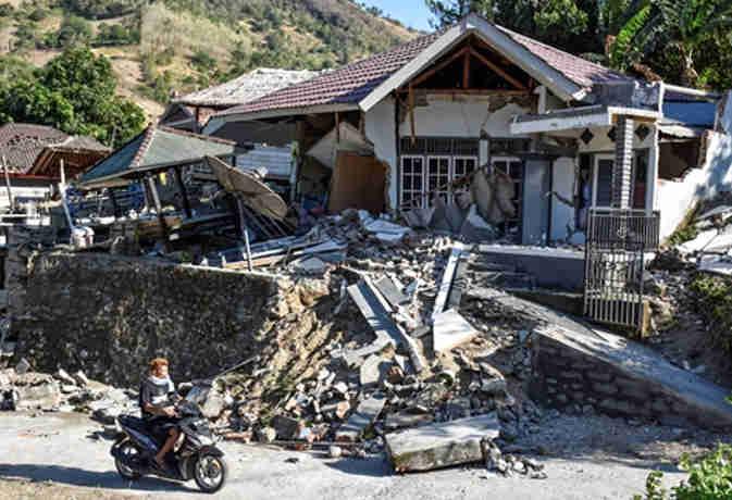 इंडोनेशिया में भूकंप का तेज झटका, अब तक 91 लोगों की मौत और 200 से अधिक घायल