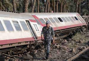 इजिप्ट में रेल हादसा, 55 लोग घायल
