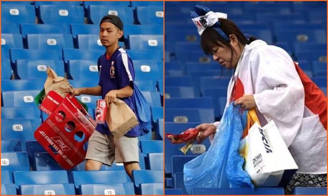 इंडियन क्रिकेटर्स ने यूं की जापानी फैंस की तारीफ, जबरदस्त हार के बाद भी कर रहे थे स्टेडियम की सफाई