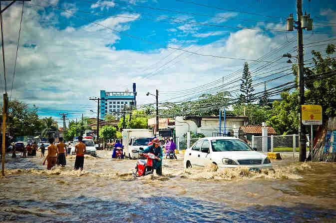 ताइवान में बाढ़ से तबाही, छह की मौत और हजारों लोग बेघर