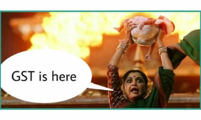 GST लॉन्च पर आई जोक्स की बहार, ऐश्वर्या से लेकर शिवगामी तक सभी का हुआ ये हाल