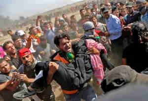 यरूशलम में अमेरिकी दूतावास के उद्घाटन से पहले हिंसक झड़प, 18 फिलिस्तीनियों की मौत