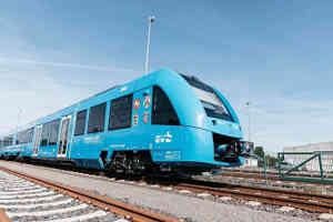 प्रदुषण कम करने के लिए जर्मनी में शुरू हुई हाइड्रोजन गैस से चलने वाली ट्रेन