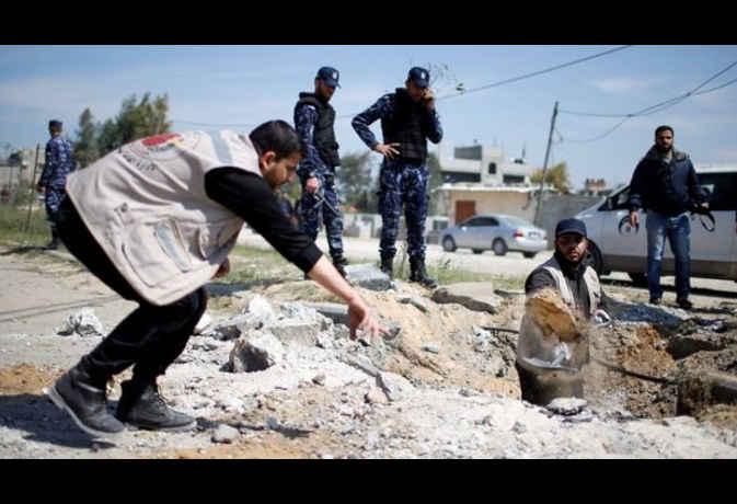 गाजा पट्टी में हुए जानलेवा हमले में बाल बाल बचे फलस्तीन के प्रधानमंत्री रामी हमदल्ला