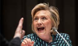 हिलेरी क्लिंटन की इन फनी तस्वीरों पर हंस रहे लोग