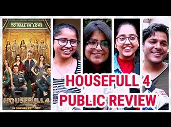 Housefull 4 Public Review: फिल्म देखकर पब्लिक को चढ़ा अक्षय कुमार का खुमार, दिए इतने स्टार