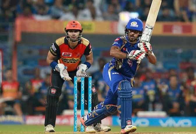 Image result for सनराइजर्स हैदराबाद और मुंबई इंडियंस