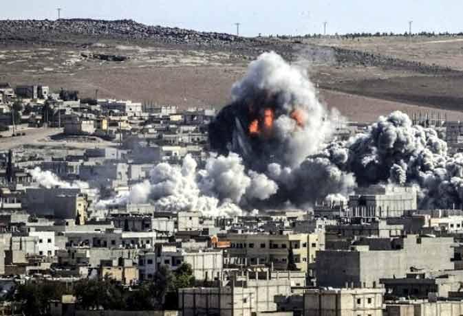 सीरिया के कोबेन में आईएस आतंकियों ने किया नरसंहार, 146 की मौत
