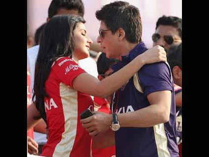 Katrina romance with SRK