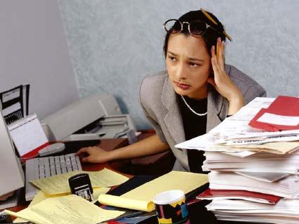Piling on pending work