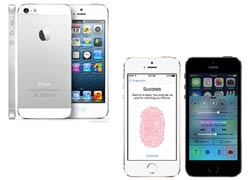 आईफोन5 vs आईफोन 5एस