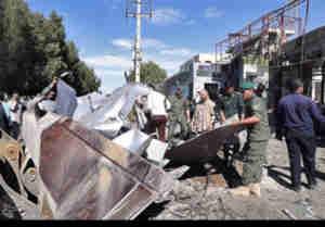 ईरान में पुलिस मुख्यालय के बाहर आत्मघाती हमला, चार की मौत और कई घायल