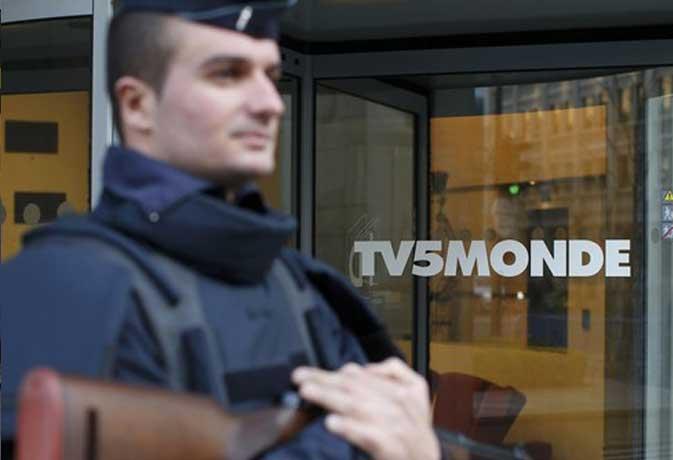आईएस आतंकियों ने हैक किया फ्रांस का टीवी चैनल