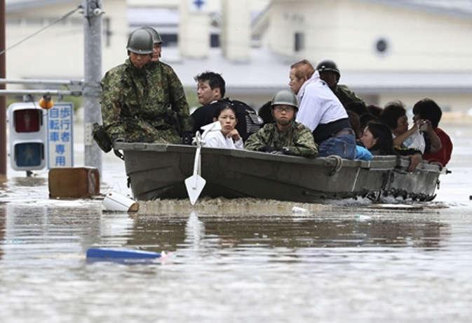 जापान में भारी बारिश से 38 की मौत, करीब 50 लोग लापता