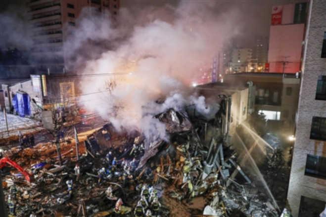 जापान के एक रेस्तरां में बड़ा विस्फोट,42 लोग घायल,आसपास की इमारतें भी क्षतिग्रस्त