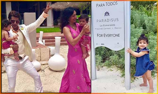 एक्टर करणवीर बोहरा की क्यूट जुड़वा बेटियों ने मेक्सिको की इस शादी में मचाया धमाल!