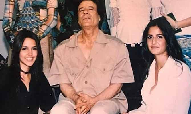 कर्नल गद्दाफी के साथ कटरीना कैफ, जान लीजिए इस वायरल तस्वीर का असली वाला सच